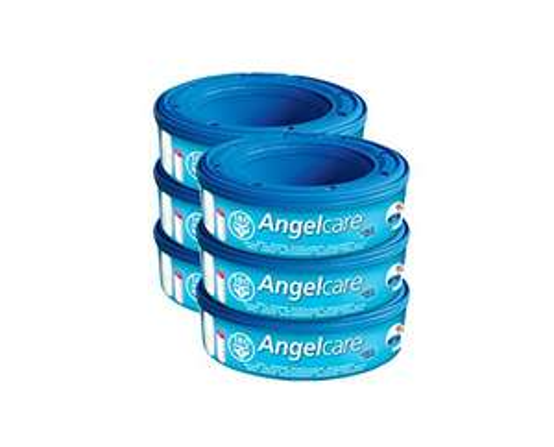 6 stück Angelcare Nachfüllkassetten