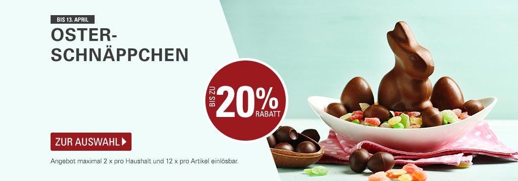 Ostersuche bei AYNF: heute 12.4 können Lindt, Trumpf Goldtaler, Ferrero die Besten und Tee für 0 Euro bei allyouneedfresh in den Warenkorb gelegt werden. 40 Euro MBW