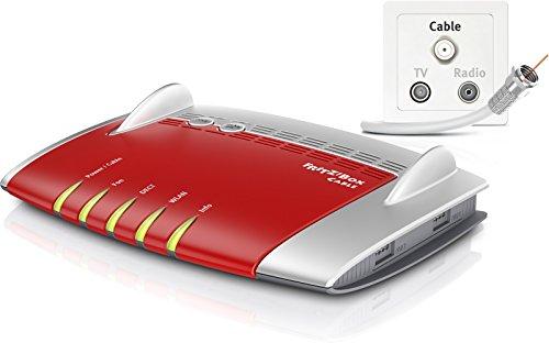 AVM FRITZ!Box 6490 Cable WLAN AC + N Router (DOCSIS-3.0-Kabelmodem für Kabelanschluss, bis 1.300 Mbit/s (5 GHz) VoIP-Telefonanlage, DECT-Basis) für 159,90€ @Amazon.de (Blitzangebot)
