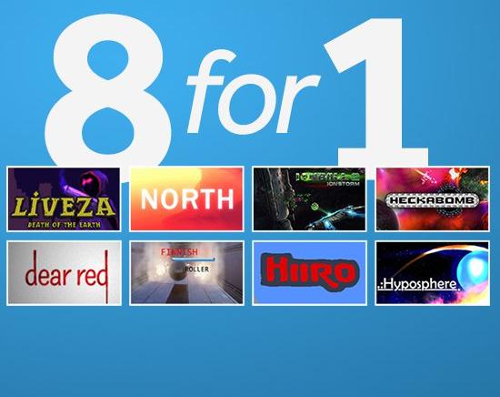 8 Steam Games für 50 Cent bei GMG