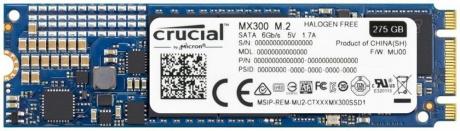 Crucial MX300 SSD M.2 275GB für 78 Euro (Rakuten MasterPass)