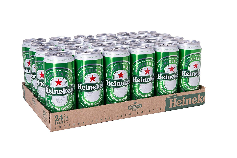 [amazon.de Prime]  Heineken 24 x 0,4l Tray für 17,99€ + 6,00 € Pfand