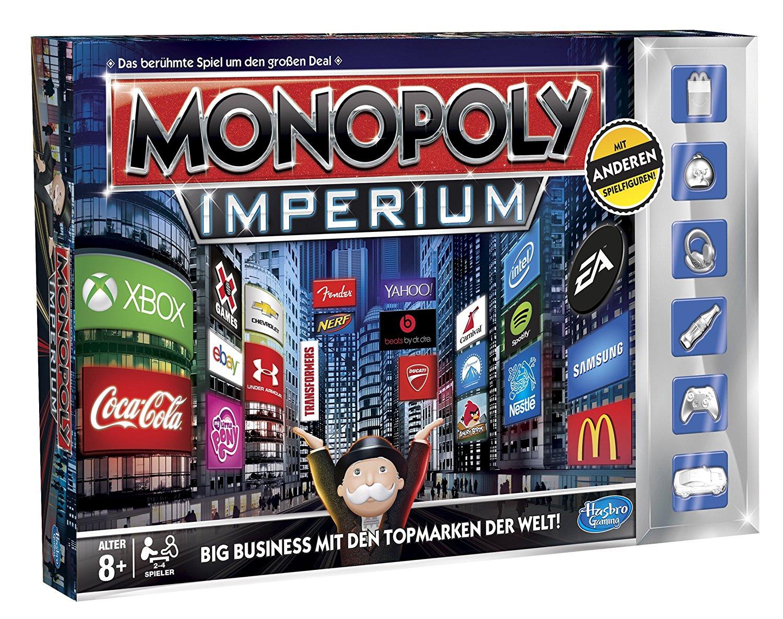 Hasbro Monopoly Imperium für 9,84€ [Amazon Prime]