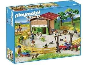 PLAYMOBIL 5960 Grosser Ponyhof passend zu Reiterhof Pferdestall Gestüt NEU & OVP für 64.99 inkl. VSK