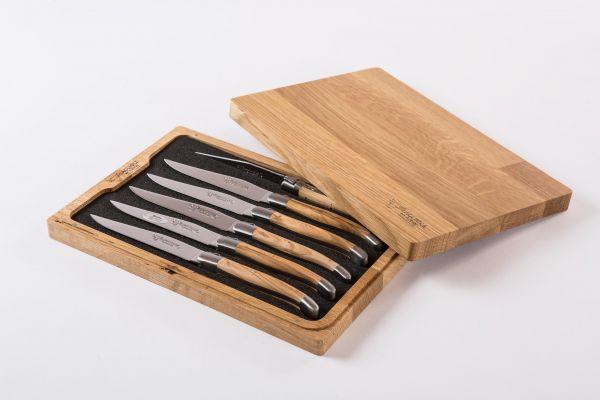 Laguiole en Aubrac Set - Edle Steakmesser