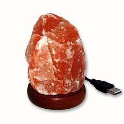 2x USB Salzlampe Natur Form ( inkl. alternativer Farbbirne) für 8,90 € ink. kostenloser Versand statt für eine 8,85 €