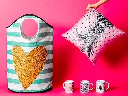 Kissen, Tassen & Wäschesäcke von Butter Kings bis zu 65% reduziert + VSKfrei bei brands4friends