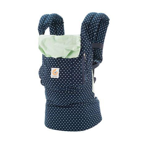 Ergobaby Babytrage Original in blau mit Punkten für 66,94€ inkl. VSK bei [babywalz]