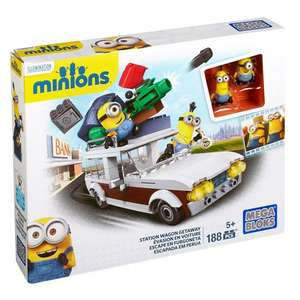 Mattel Mega Bloks CNF56 - Minions Movie Medium Spielset für 10€