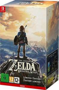 Zelda breath of the wild limited Edition