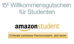 Amazon Prime Student - 12 Monate gratis