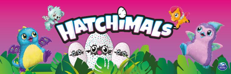 Hatchimals von Spin Master, die komischen Plüschteile, die aus dem Ei schlüpfen, bei ToysRUs für EUR 54,98