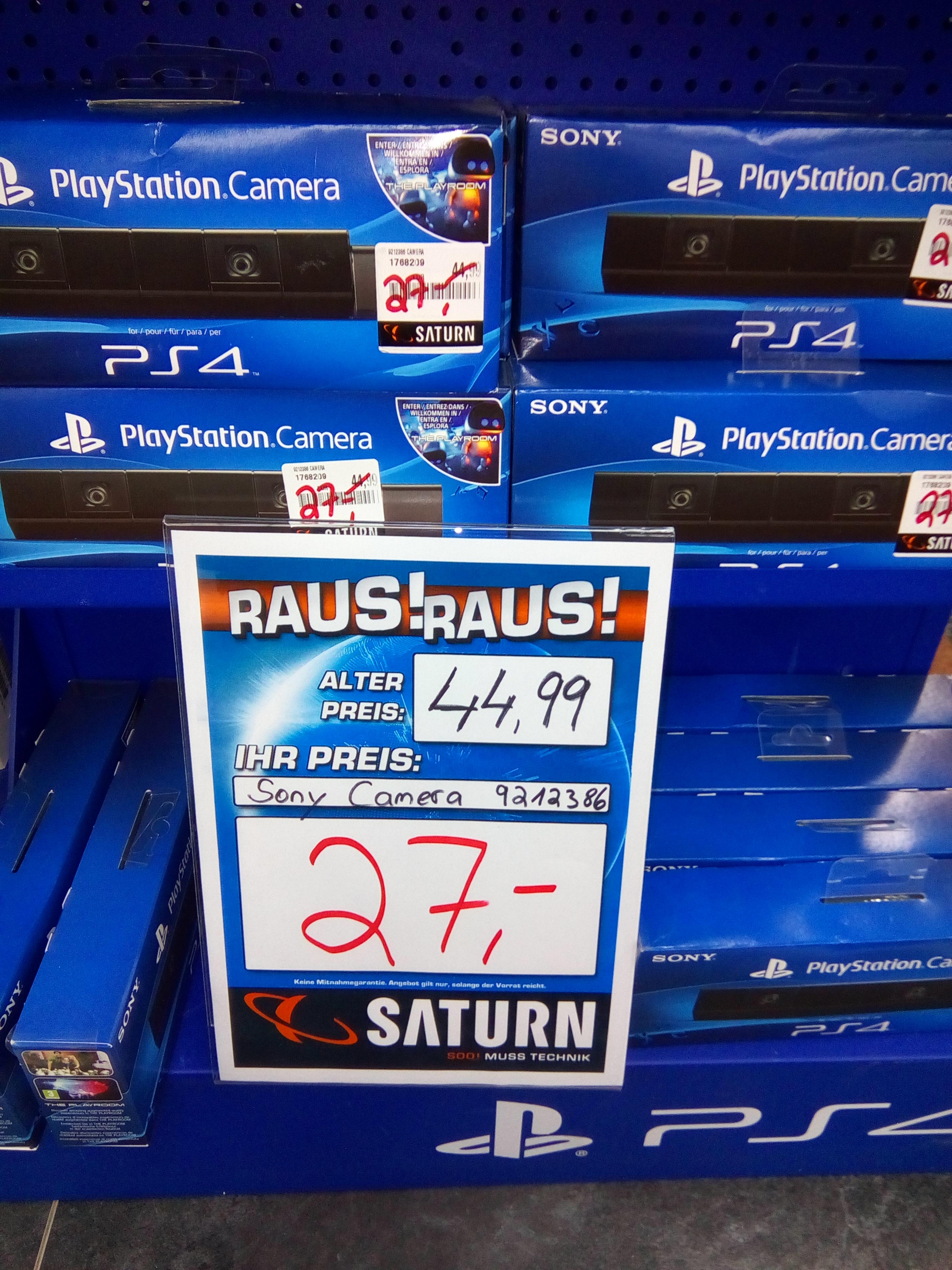 [LOKAL Saturn Bremen Innenstadt] Playstation Camera (altes Modell , 2013) für schlappe 27€