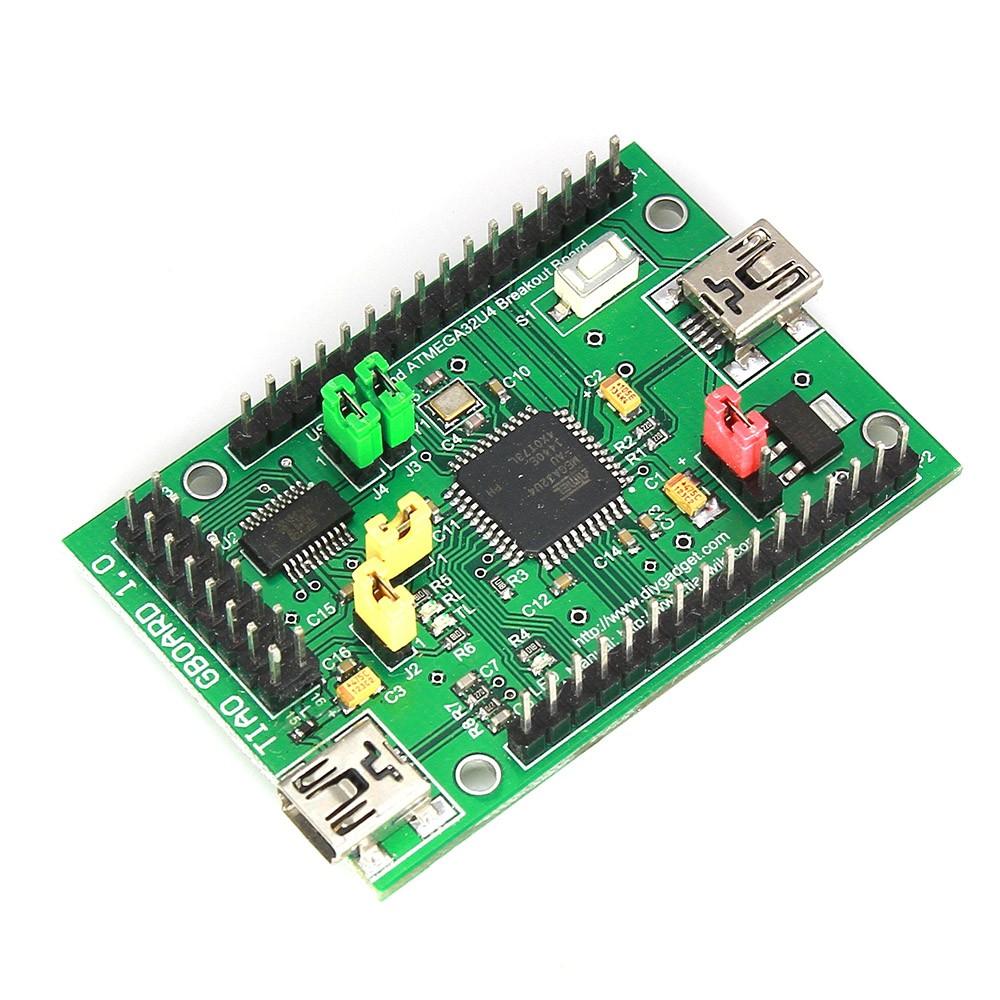 GIMX DIY Adapter fertig montiert - ATMEGA32U4 Development board - PS4 mit Maus und Tastatur spielen!
