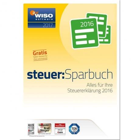 WISO steuer:Sparbuch 2017, 1 User/Gerät, Vollversion