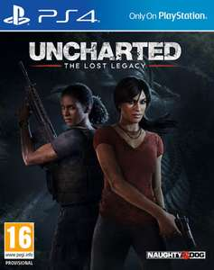 Uncharted: The Lost Legacy inkl. Jak and Daxter: The Precursor Legacy (PS4) für 31,95€ inkl. VSK (Shopto oder Base)