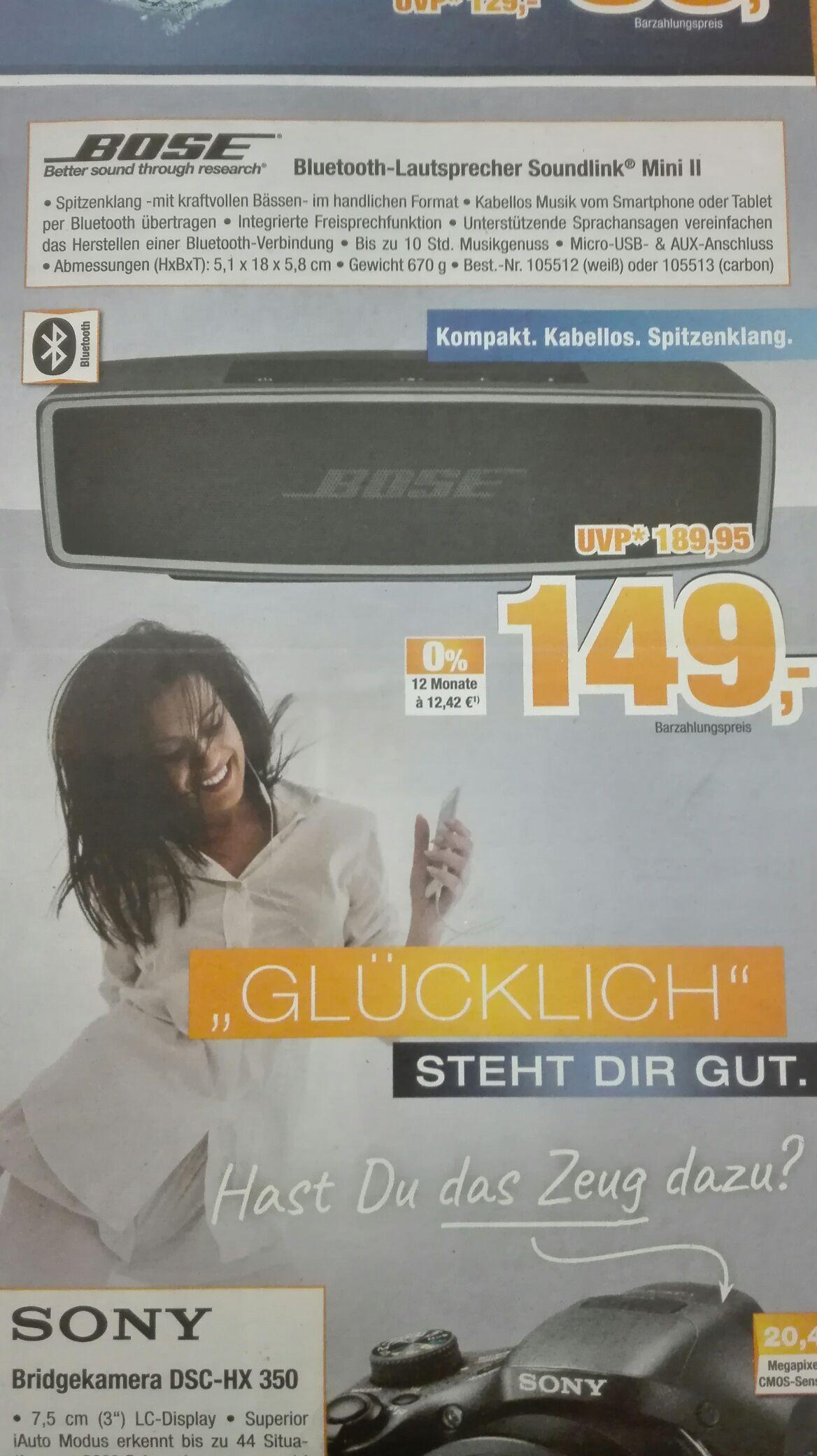 Expert Bening Bose Soundlink Mini II Bluetooth Lautsprecher