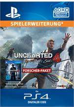 [GameStop] Uncharted 4 Forscher Paket (incl. The Lost Legacy DLC, digital) - PS4 / PlayStation 4 - 24,99€