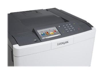 [metacomp.de] Lexmark CS510DE Farblaserdrucker (1200 dpi, USB 2.0, 30 Seiten pro Minute) graphit/weiß