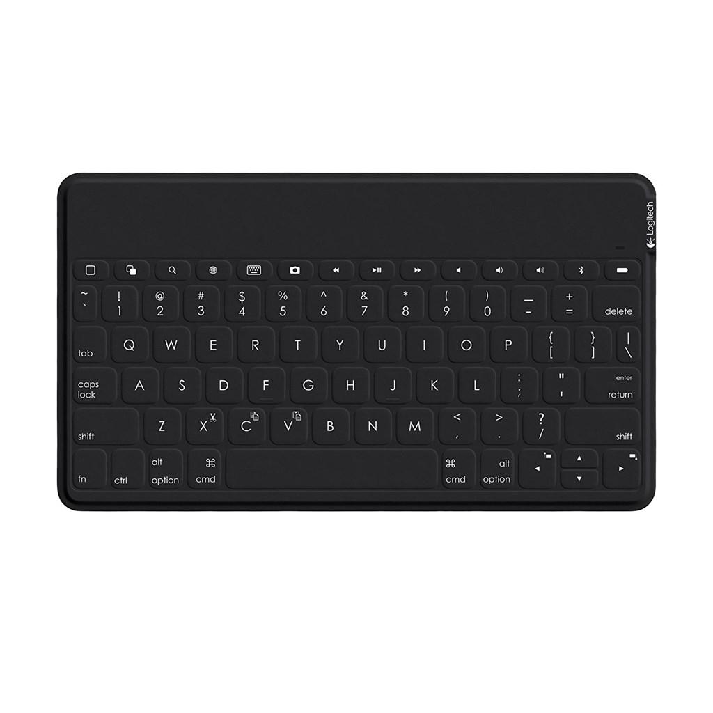 [Talk-Point] Logitech Keys-To-Go Ultra-portable Tastatur für iPad, iPhone, Apple TV und vieles mehr (QWERTZ, deutsches Tastaturlayout) ,schwarz