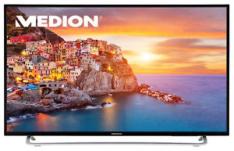 Medion Life P17118 (43'' FHD Edge-lit, 300cd/m², Triple Tuner, 3x HDMI 2.0 + Scart + VGA, 1x USB, CI+, VESA, EEK A) für 259,99€ [Ebay]