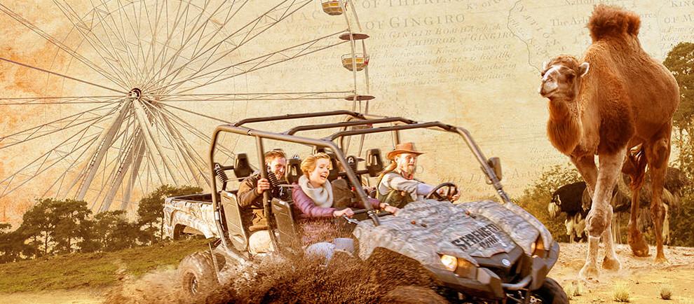Kinder frei im Serengeti-Park in Hodenhagen
