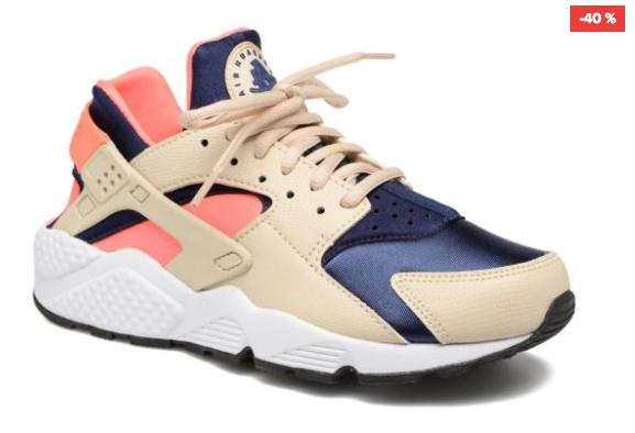 Very serious week bei Sarenza mit bis zu 50% auf viele, viele Schuhe, z.B. Nike Air Huarache Run für Mädels (Gr. 36-42) für 57€ statt 95€