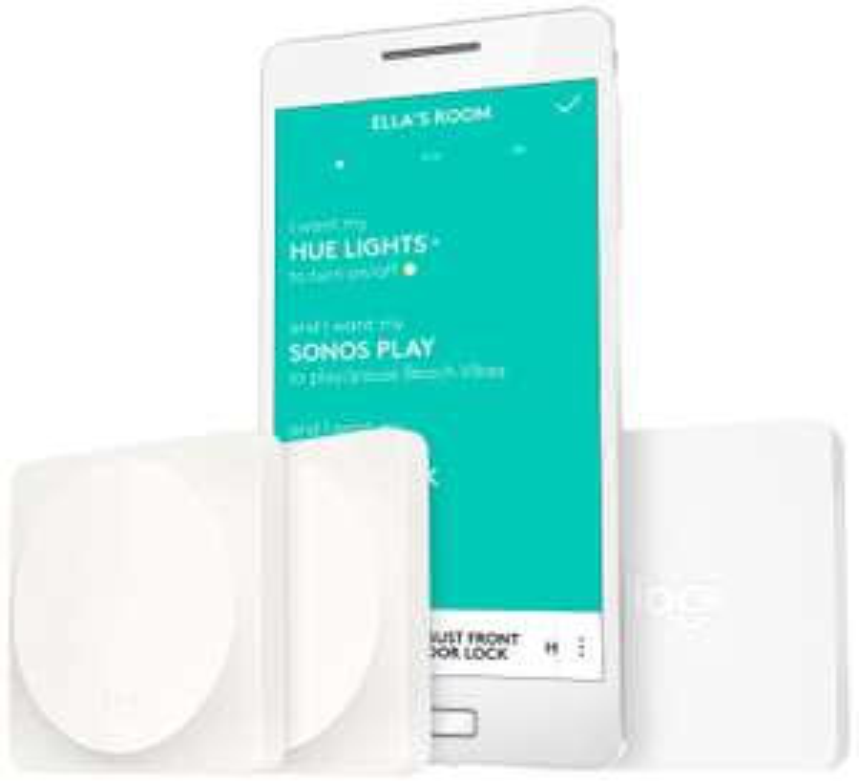 Logitech Pop Schalter Starter Pack (geeignet für Hausautomatisierung, Smart Home Geräte in allen Räumen per Tastendruck steuern) [Amazon.de]