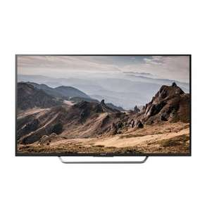[comtech] Sony KD-49X8005C 49 Zoll Fernseher (Ultra HD, IPS, 60 Hz nativ, 200Hz MF XR, X1 Prozessor, Twin Triple Tuner, DVB-T2 Android TV, Wireless Lan, Apps)