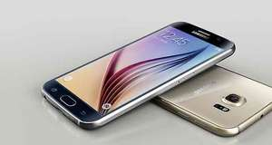 Samsung Galaxy S6 Smartphone (5,1 Zoll (12,9 cm) Touch-Display, 64 GB Speicher, Android 5.0) weiß