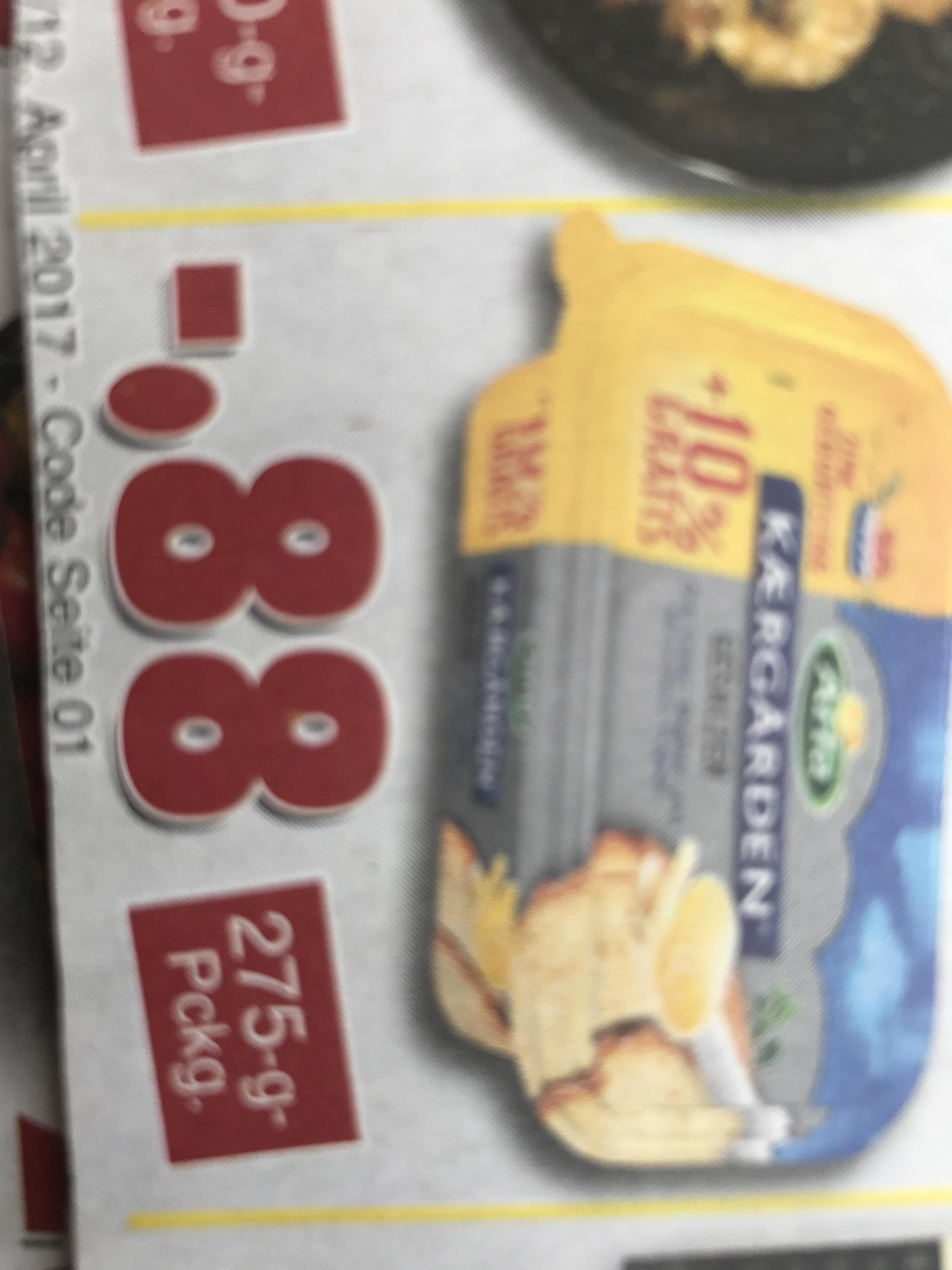 arla Kaergarden gesalzene Butter 275g (+25g) bei jawoll
