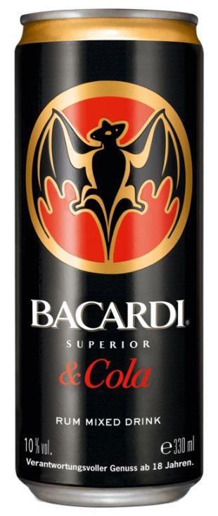 (Lokal Thomas Philipps) Dose Bacardi-Cola oder Oakheart-Cola