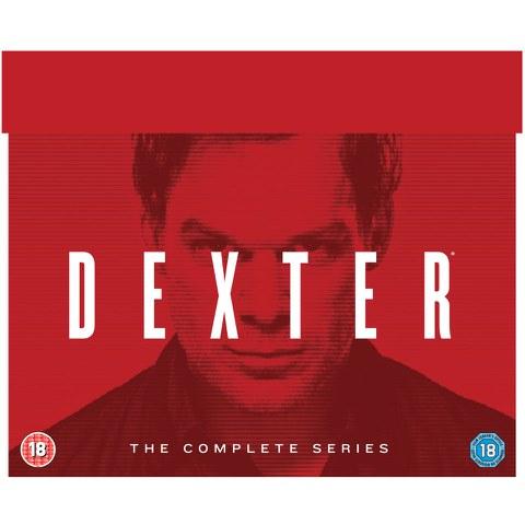 Dexter - Die komplette Serie (33 DVDs) (OT) für 25,95€ (Zavvi)