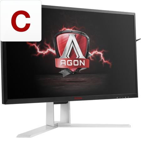 ZackZack Angebot: AOC AGON AG241QG 60,5 cm (23,8 Zoll) Monitor (Displayport, HDMI, 4 x USB 3.0, 2560 x 1440, 165 Hz, 1ms, Nvidia G-Sync) schwarz/rot