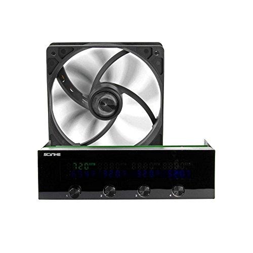 [Amazon Marketplace Technikbilliger] Scythe KM05-BK Kaze Master II 4-Kanal Lüftersteuerung (5,25 Zoll) schwarz 18,15€, PVG 41,89€