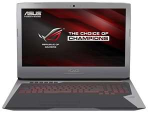 Asus ROG G752VM-GC034D (17,3'' FHD IPS matt G-Sync, i7-6700HQ, 8GB RAM, 1TB HDD, Geforce 1060 6GB, Bluray-Laufwerk, Wlan ac + Gb LAN, Thunderbolt 3, bel. Tastatur, FreeDOS) + 2 Keys + Gamepad für 1000,99€ [Alternate]