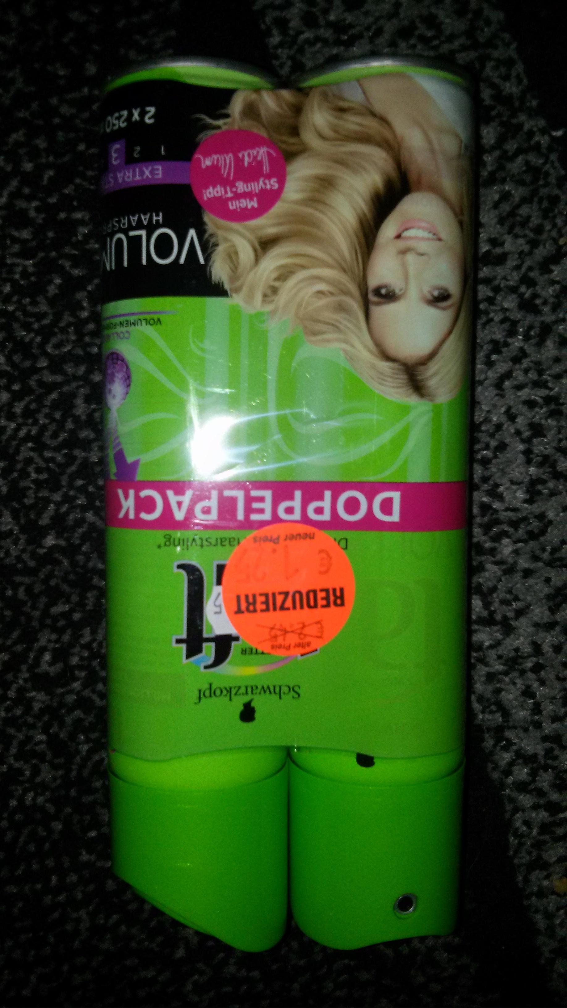 3 Wetter Taft 2x250ml für 1,25 Volumen Haarspray  [DM Lokal Bochum]