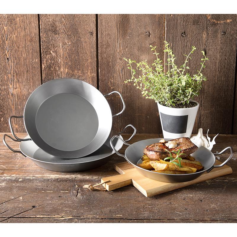 NORMA offline (ab 18.04) - Eisenpfannen (zum Grillen) 24/28/32cm für 7/8/9€