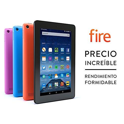 Fire-Tablet, 17,7 cm (7 Zoll) Display, WLAN, 8 GB (Schwarz) - mit Spezialangeboten - Für Zuspätkommer -letzte Chance vor Ostern (Amazon ES)