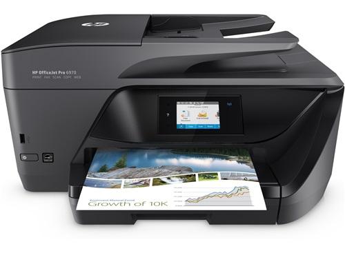 HP OfficeJet Pro 6970 All-in-One-Drucker + 1 Jahr kostenlos Tinte (300 Seiten pro Monat) für 99€ im HP Education Store