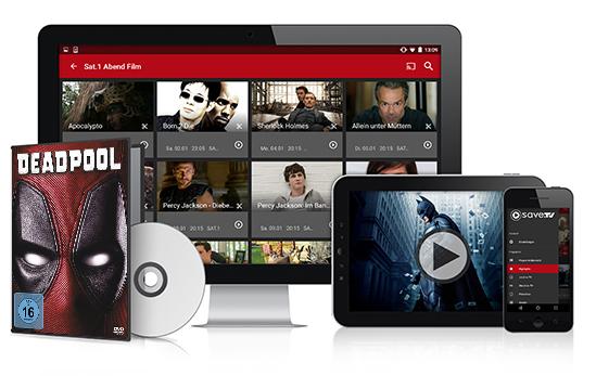 3 Monate Save.TV XL plus DVD für 5 € (statt 44,97 €) - gilt auch für ehem. Save.TV-Kunden!