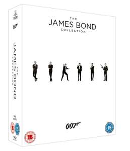 James Bond Collection (23x Blu-ray + Digitale Kopie) für 51,89 € (Zavvi)