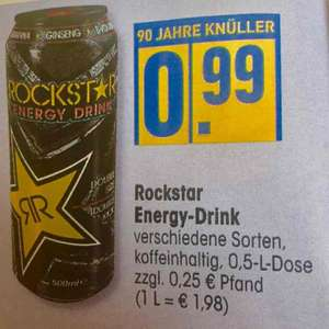 [EDEKA und Coupies] Rockstar Energy Drink 0,69€