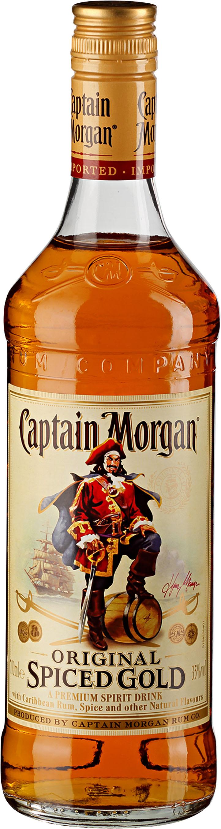 [Kaufland] Captain Morgan Original Spiced Gold -25%