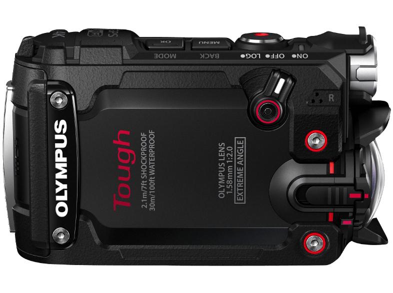 Olympus TG-Tracker Actionkamera Schwarz