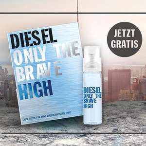 [FB] Diesel Only The Brave HIGH kostenlose Parfümprobe (nur via Facebook Messenger)