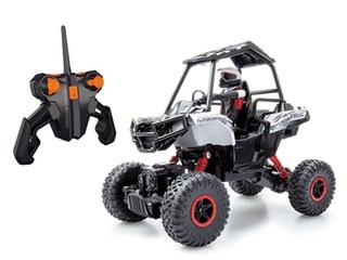 Dickie Toys  - RC Polaris Rock Crawler, funkferngesteuerter Buggy inklusive Batterien, 26 cm