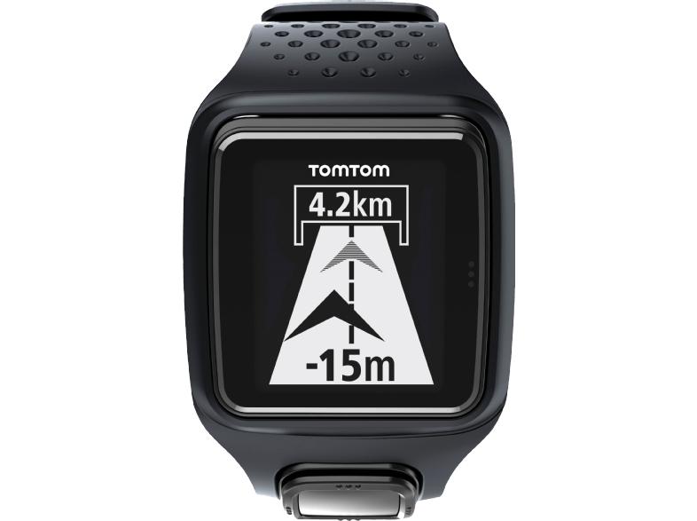TOMTOM Runner, GPS-Sportuhr, Schwarz inkl. Versand