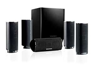 Amazon oder Redcoon Harman/Kardon HKTS 5BK/230 5.1-Kanal Surroundsound Heimkino-Lautsprechersystem 199 Euro