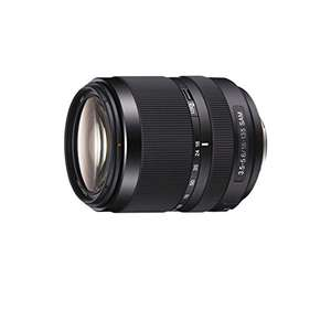 Sony DT 18-135mm f3.5-5.6 SAM SAL-18135 Objektiv (A-Mount) für 320,17€ [Amazon.it]